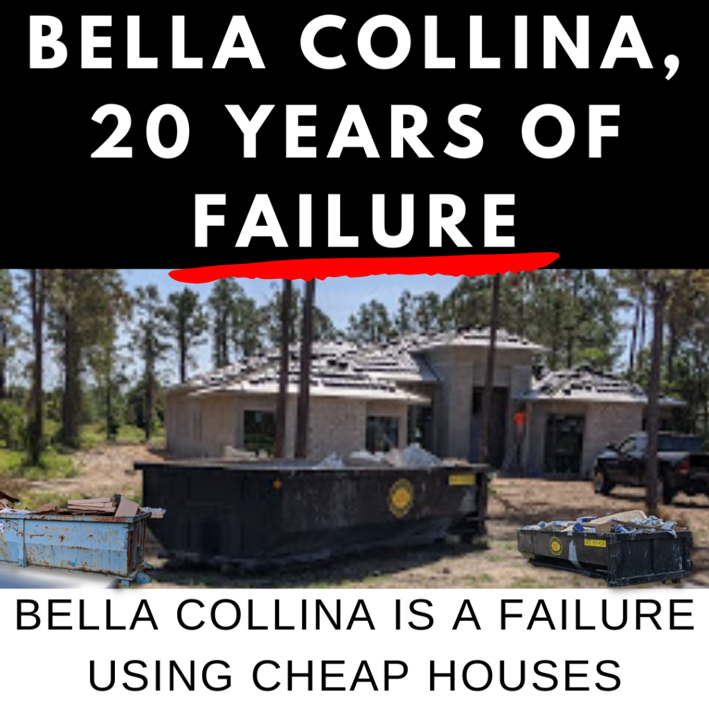Bella Collina 20 years of failure